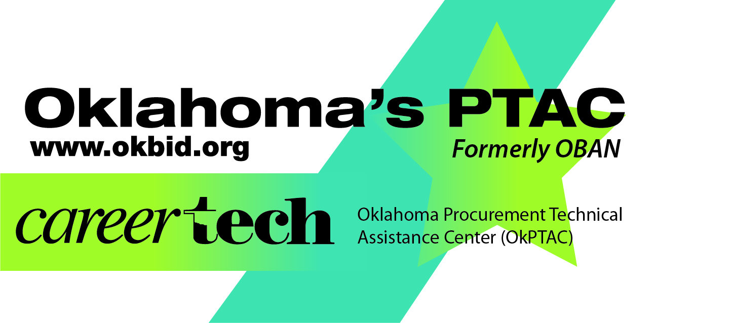 logo for oklahoma's ptac formerly oban